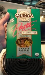 Quinoa noodles
