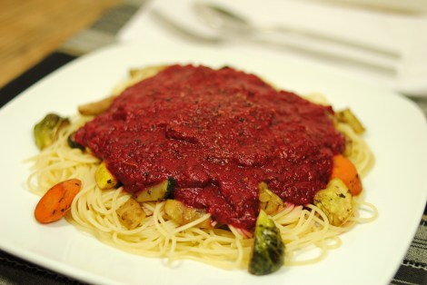 Tomato-free marinara (low-amine, no-tomato, gluten-free, soy-free, dairy-free, nut-free, low-fat, paleo, vegetarian, vegan) photo