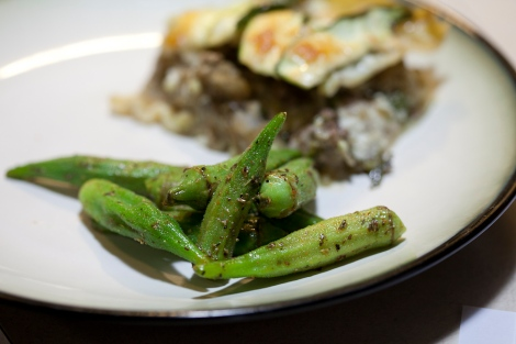 Red wine okra