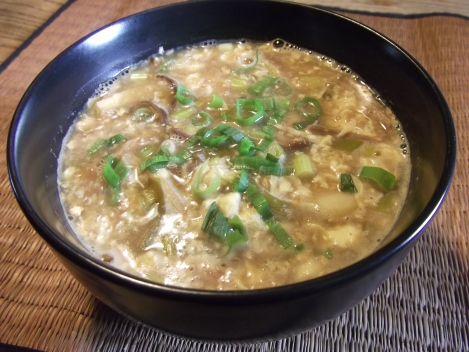 Hot & Sour Soup (gluten-free, soy-free, and low-amine)