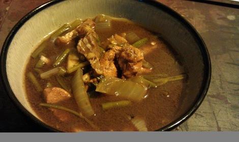 Sinigang (Filipino Tamarind Soup)