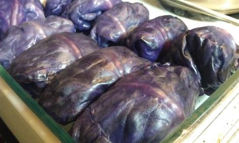 Stuffed Cabbage in pan photo