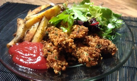 Low-amine chicken strips (gluten-free, soy-free, low-amine) photo