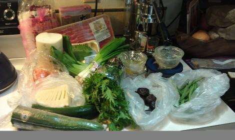 Dinner tonight? Chuka soba. Many ingredients, but very little work. photo.