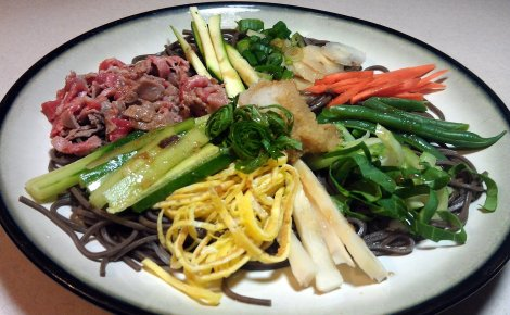 Japanese Chuka Soba (low-amine, soy-free, gluten-free) photo
