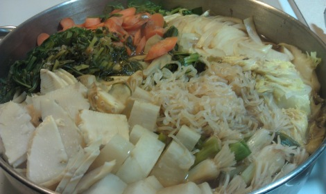 Japanese Sukiyaki (low-fat, low-amine, gluten-free, soy-free, vegan) photo