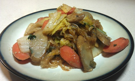 Simple stir-fry (low-amine, soy-free, gluten-free, vegan) photo