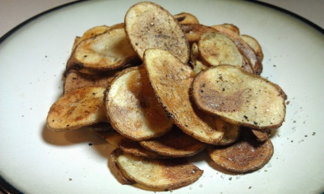 Baked Potato Chips (low-amine, gluten-free, soy-free, vegan) (photo)