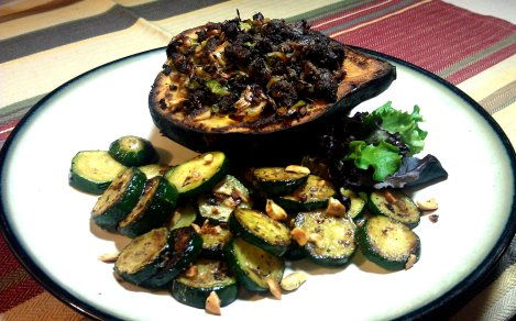 Stuffed Acorn Squash (low-amine, gluten-free, soy-free, paleo) (photo)