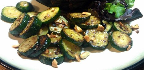 Slow-Roasted Zucchini with Toasted Cashews (low-amine, vegetarian, gluten-free, soy-free, dairy-free) (photo)