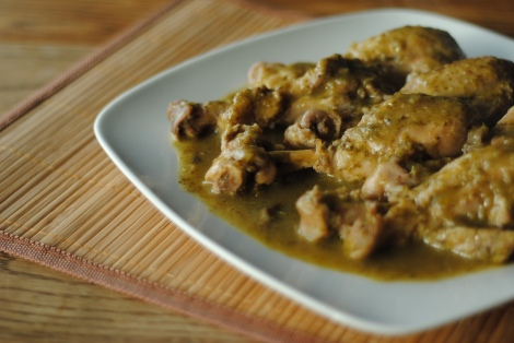 Curried Cilantro Chicken (low-amine, gluten-free, soy-free, dairy-free, tomato-free, coconut-free) photo