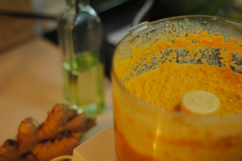 Low-amine carrot ginger dressing (low-amine, gluten-free, soy-free, dairy-free) photo