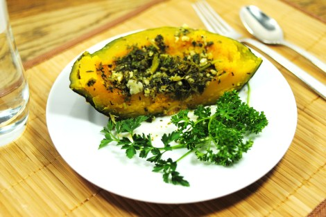 Savory Roasted Squash (low-amine, gluten-free, soy-free, dairy-free, nut-free, paleo, vegetarian, vegan) photo