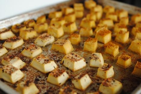 Tofu Bites (low-amine, gluten-free, diary-free, nut-free, tomato-free, paleo, vegan, vegetarian) photo