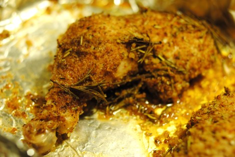Baked Breaded Rosemary Lemon Chicken (low-amine, gluten-free, soy-free, dairy-free, nut-free, tomato-free) photo