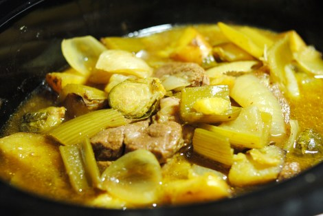Low-amine curry cumin pot roast, 3 hours down, 1.5 to go (low-amine, gluten-free, soy-free, dairy-free, nut-free, tomato-free, nightshade-free, low-carb, paleo) photo