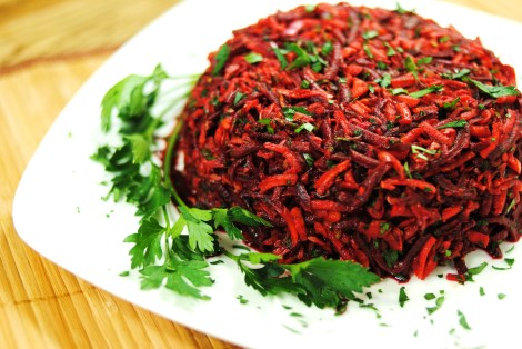 Beet and Carrot Salad (low-amine, gluten-free, soy-free, dairy-free, tomato-free, nut-free, paleo, vegetarian, vegan) photo
