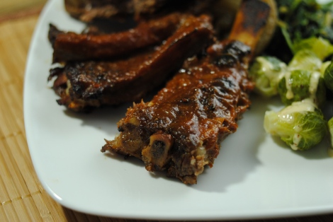 Low-Amine BBQ Beef Ribs (low-amine, gluten-free, soy-free, dairy-free, nut-free, paleo) photo