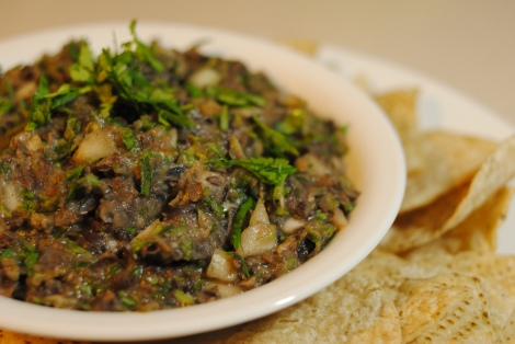 Low-Amine Black Bean Dip (low-amine, gluten-free, soy-free, dairy-free, nut-free, low-fat, low-carb, vegetarian, vegan) photo