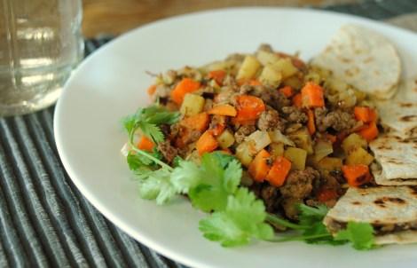 Greek Sweet Potato Breakfast Hash (low-amine, gluten-free, soy-free, dairy-free, nut-free, paleo) photo