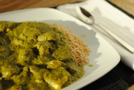 Low-Amine Green Curry Chicken (low-amine, gluten-free, soy-free, dairy-free, nut-free, paleo, low-fat, low-carb) photo